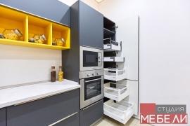 Современная матовая кухня