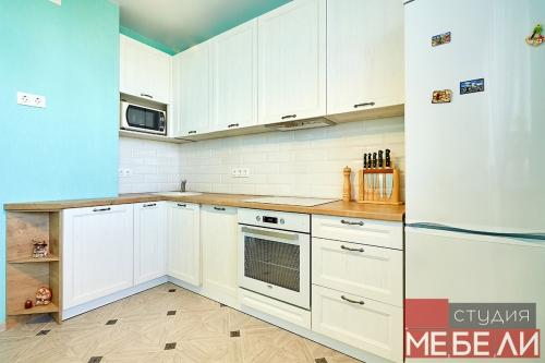 Классическая белая кухня для любого интерьера