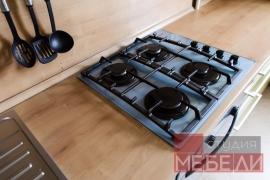 Оливковая кухня из МДФ