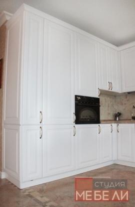 Классическая белая кухня