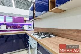 Черничная кухня из постформинга
